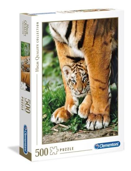 Clementoni Puzzle 500el Baby Tiger 35046 p6, cena za 1szt. (35046 CLEMENTONI)