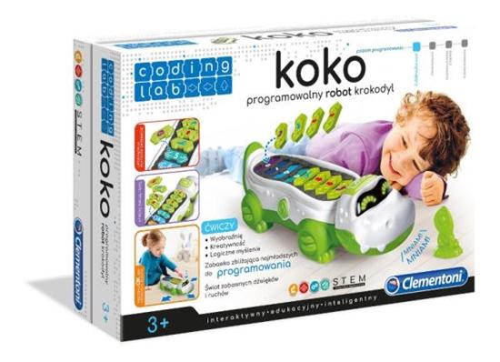 Clementoni Koko programowalny robot Krokodyl 50108 p6 (50108 CLEMENTONI)