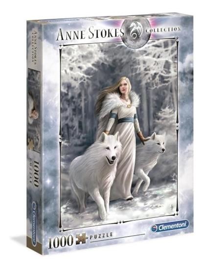 Clementoni Puzzle 1000el Anne Stokes Collection Winter Guardians 39477 (39477 CLEMENTONI)