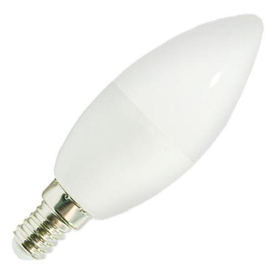 Żarówka LED E14 8W świeczka biała ciepła