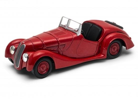 Welly 1:34 BMW 328 cabrio - czerwony
