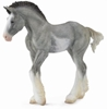 COLLECTA 88626 Źrebię rasy Clydesdale blue roan r:M 10x9 (004-88626)