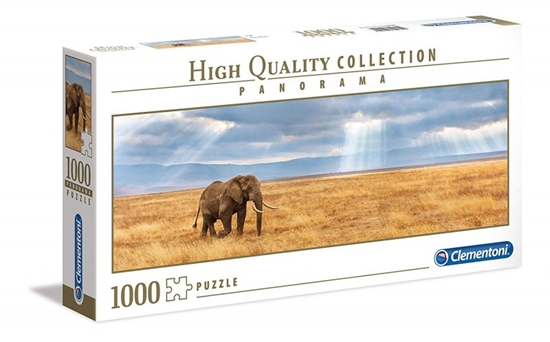 Puzzle 1000 elementów Panorama High Quality Collection - Zagubiony (39484 CLEMENTONI)