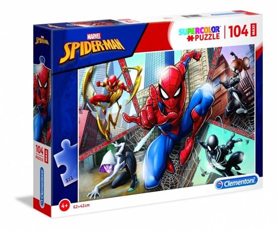 Puzzle 104 elementy Maxi Spider Man (23734 CLEMNTONI)