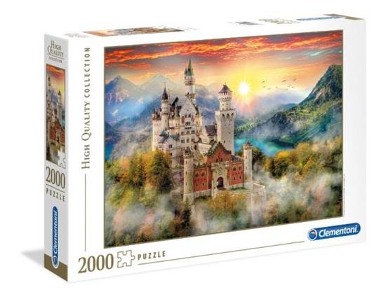 Clementoni Puzzle 2000el HQ  Neuschwanstein 32559 p6, cena za 1szt. (32559 CLEMENTONI)