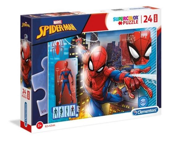 Clementoni Puzzle 24el Maxi Spider-Man 28507 p6, cena za 1szt. (28507 CLEMENTONI)