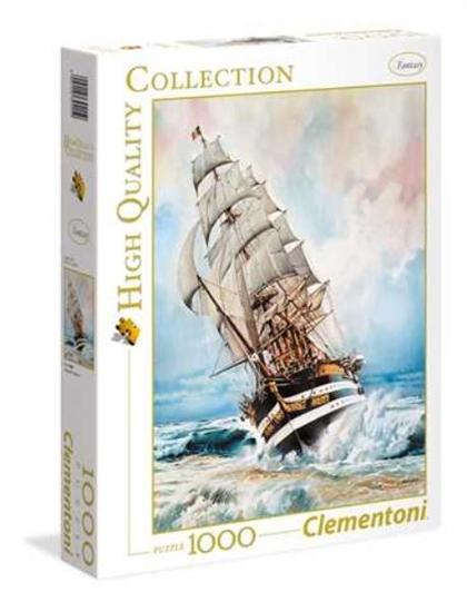Clementoni Puzzle 1000el HQC Amerigo Vespucci 39415 p6, cena za 1szt. (39415 CLEMENTONI)