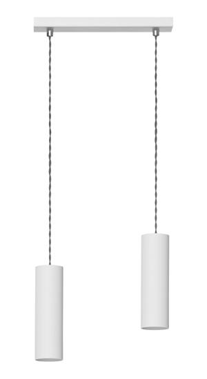 Lampa wisząca Rollg 2 biała