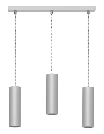 Lampa wisząca Rollg 3 popiel