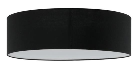 Plafon Iglo 50 czarny