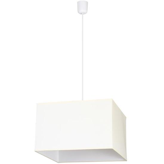 Lamp wisząca Kwadrat ecru