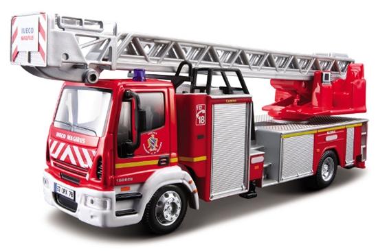 Bburago 1:50 Iveco Magirus 150E 28 Straż pożarna