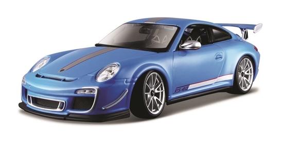 Porsche 911 GT3 RS 4.0 niebieski 1:18 BBURAGO