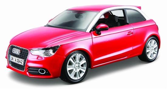 Audi A1 1:24 czerwony BBURAGO (GXP-567807)
