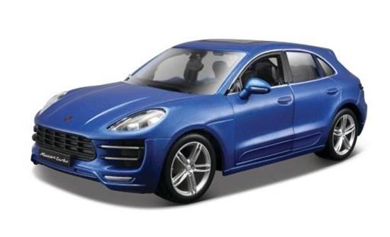 Porsche Macan 1:24 niebieski BBURAGO (GXP-623157)