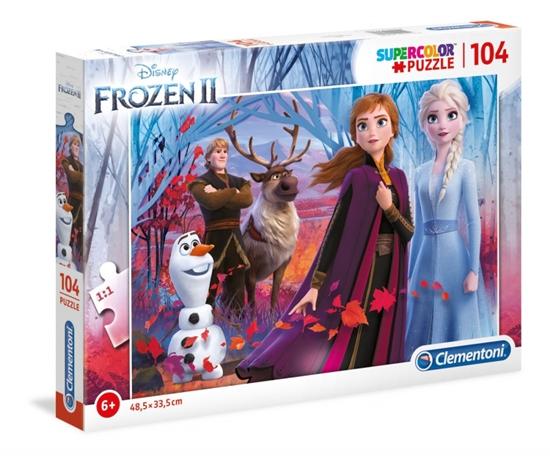 Puzzle 104 elementy Super Kolor Kraina lodu 2 (27274 CLEMENTONI)