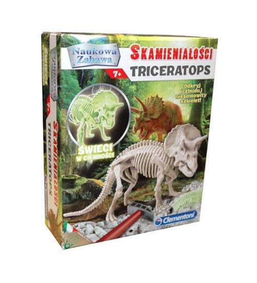 Clementoni Skamieniałości Triceratops 60892  p6, cena za 1szt. (60892 CLEMENTONI)