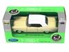 Welly 1:34 Chevrolet Bel Air '57 Soft-top -kremowy