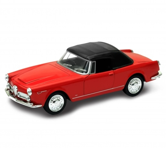 Welly 1:34 Alfa Romeo Spider 2600 (soft-top) - czerwony