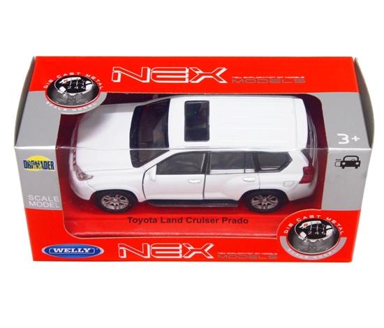 WELLY 1:34 Toyota LAND CRUISER PRADO biały