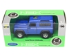 Welly 1:34 Land Rover Defender niebieski