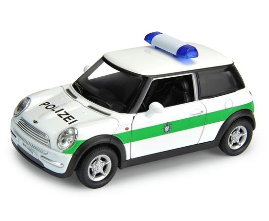 Welly 1:34 Mini Cooper Policja -biały