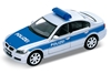 Welly 1:34 BMW 330i  POLIZEI -srebrno-niebieski