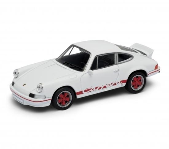 WELLY 1:34 Porsche Carrera RS biały
