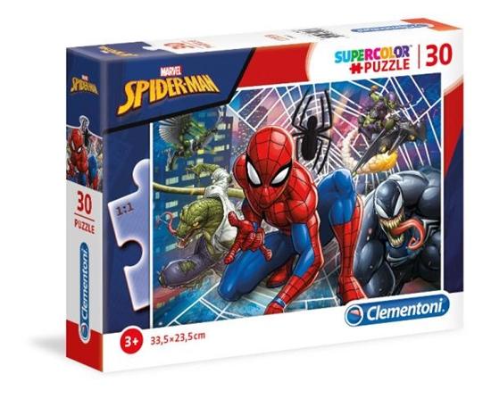 Clementoni Puzzle 30el SUPER KOLOR Spider-Man 20250 p6 (20250 CLEMENTONI)