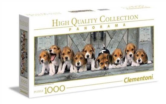 Clementoni Puzzle 1000el Panorama Beagles 39435 p6, cena za 1szt. (39435 CLEMENTONI)