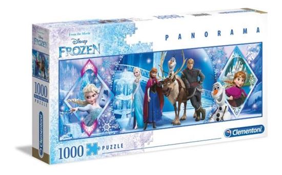 Clementoni Puzzle 1000el Panorama - Frozen 39447 p6, cena za 1szt. (39447 CLEMENTONI)