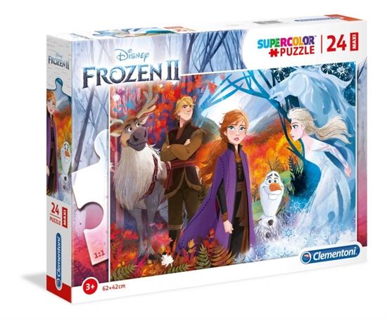 Puzzle 24 elementy Maxi Super Kolor Kraina lodu 2 (28510 CLEMENTONI)