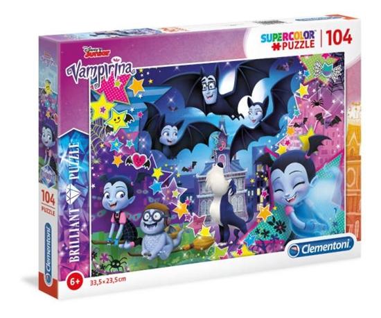 Clementoni Puzzle BRILLIANT 104 EL Vampirina 20156 p6 (20156 CLEMENTONI)