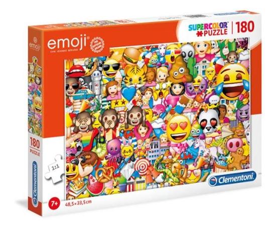 Clementoni Puzzle 180el Emoji 2019 29756 p6, cena za 1szt. (29756 CLEMENTONI)
