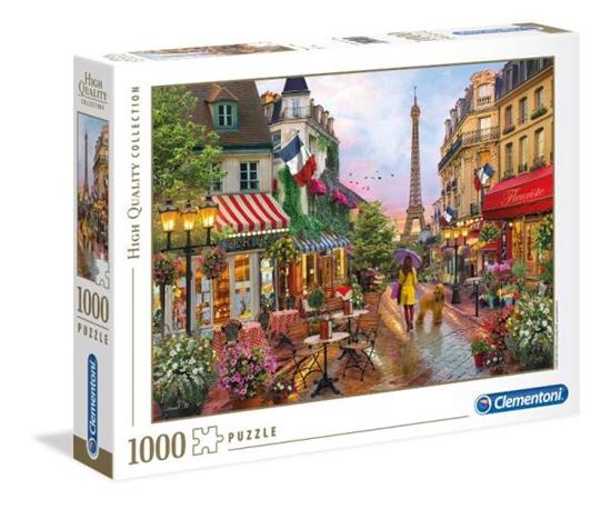 Clementoni Puzzle 1000 EL HQ Kwiaty w Paryżu 39482 p6 (39482 CLEMENTONI)
