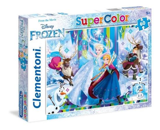 Clementoni Puzzle 60el Frozen 26981 (26981 CLEMENTONI)