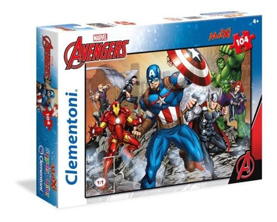 Clementoni Puzzle 104el Maxi Avengers 23985 (23985 CLEMENTONI)