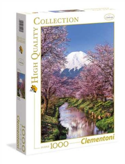 Clementoni Puzzle 1000el HQC Mountain Fuji 39418 p6, cena za 1szt. (39418 CLEMENTONI)