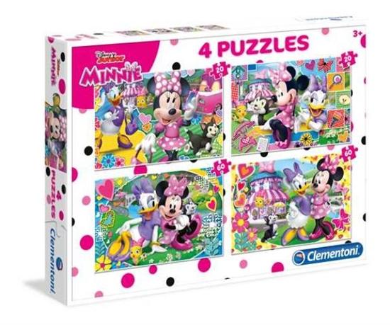 Clementoni Puzzle 2x20+2x60el Minnie 07615 p6, cena za 1szt. (07615 CLEMENTONI)