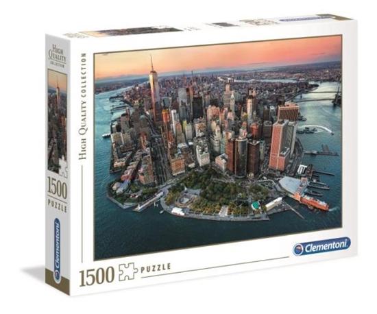 Clementoni Puzzle 1500el HQ Nowy Jork 31810 p6 (31810 CLEMENTONI)