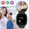 Smartwatch GPS  Bezpieczna Rodzina dla dzieci. Wodoodporny GJD.06 Czarny