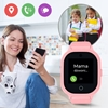 Locon Wodoodporny Smartwatch GPS dla dzieci GJD.06 Różowy