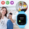 Wodoodporny Smartwatch GPS dla dzieci GJD.06 Niebieski