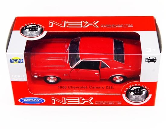 Welly 1:34 Chevrolet '68 Camaro Z28 -czerwony