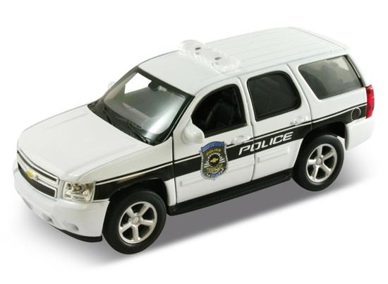 Welly 1:34 Chevrolet Tahoe '08 POLICE -biały
