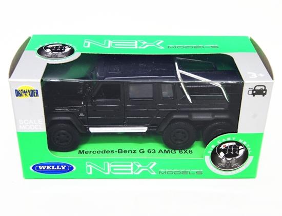 WELLY 1:34 Mercedes-Benz G 63 AMG 6x6 - czarny