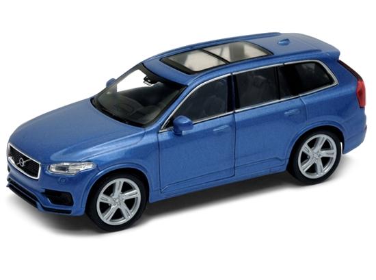 WELLY 1:34 Volvo XC 90 - niebieski