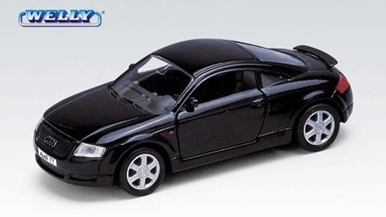 Welly 1:34 Audi TT -czarny
