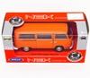 WELLY 1:34 VW Volkswagen T2 BUS '72 pomarańczowy