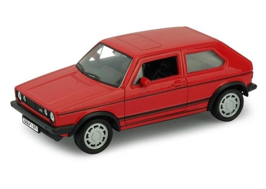 Welly 1:34 Volkswagen Golf I GTI -czerwony